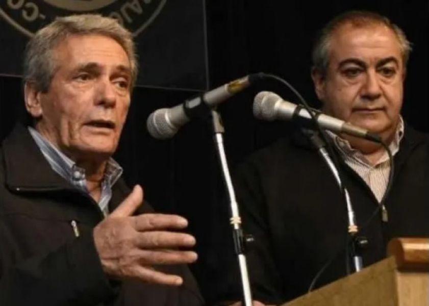 El Consejo directivo de la CGT que lideran Héctor Daer y Carlos Acuña en una rueda de prensa descartaron llamar a un paro nacional.