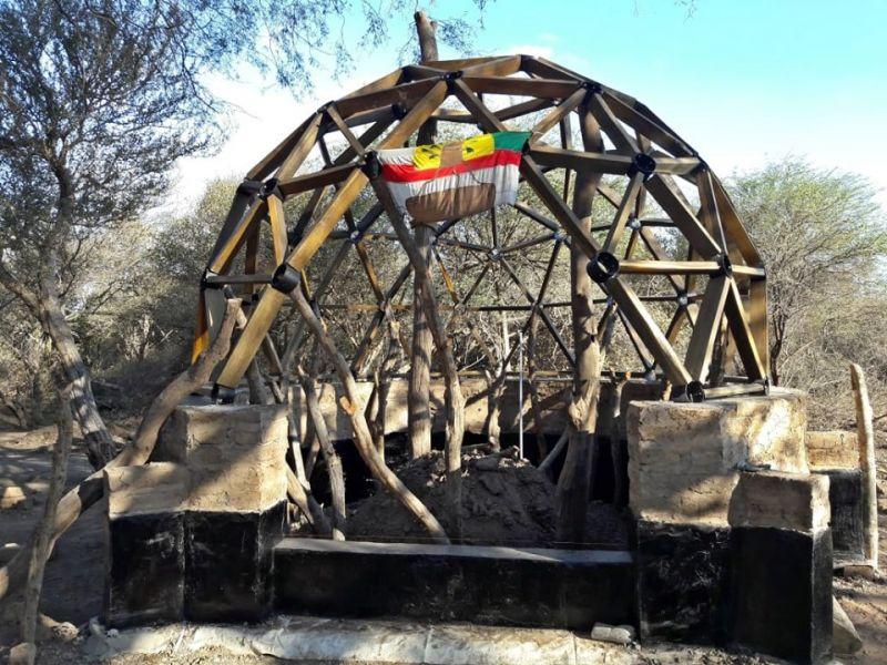 """Se construye el """"Quirquincho"""" como la sede en la Misión Chaqueña."""