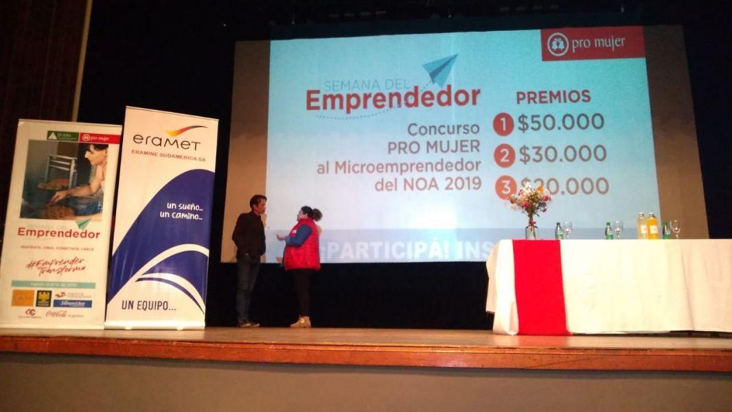 Nuevo Diario fue uno de los organizadores de la Semana del Emprendedor en Salta.