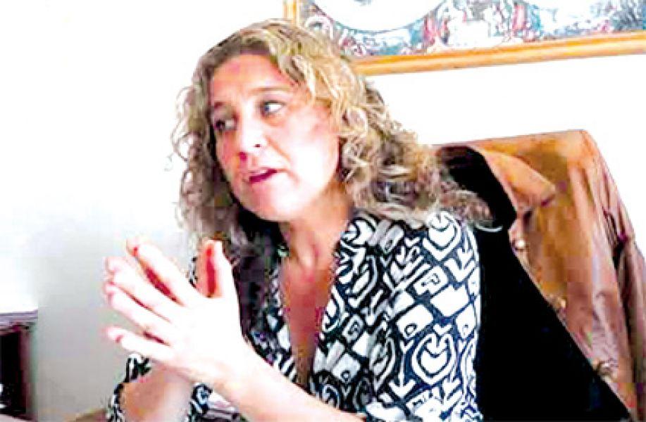 """María Luján Sodero, de la Fiscalía Penal que entiende en el caso caratulado: """"Muerte dudosa en perjuicio de Nüesch, Yanina y Peñalva, María Luján""""."""