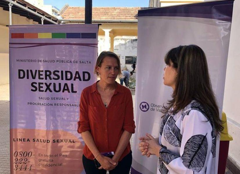 La campaña de acceso a la salud para especialmente para el sector de la diversidad sexual se realizará durante todo septiembre.