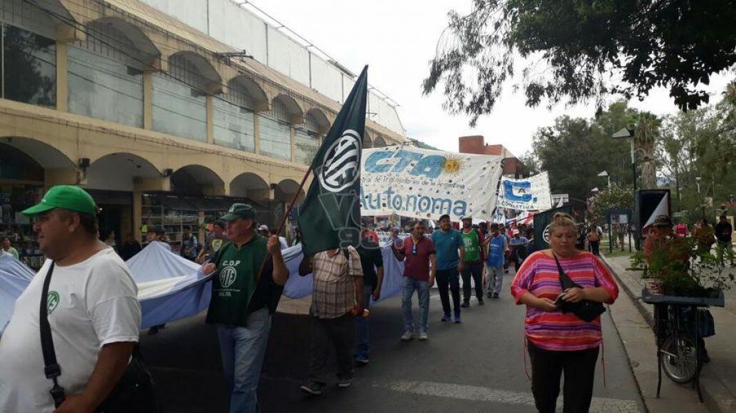 La convocatoria al paro nacional de empleados estatales en Salta fue lanzada por ATE-seccional Salta y la CTA-Autónoma.