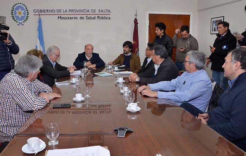 Salta pagará parte de la deuda nacional a los Centros de Diálisis para garantizar la cobertura, dijo Mascarello a representantes de Cepridiasa.
