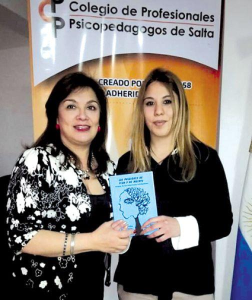Lorena Montenegro y Viviana Bazán, psicopedagogas.