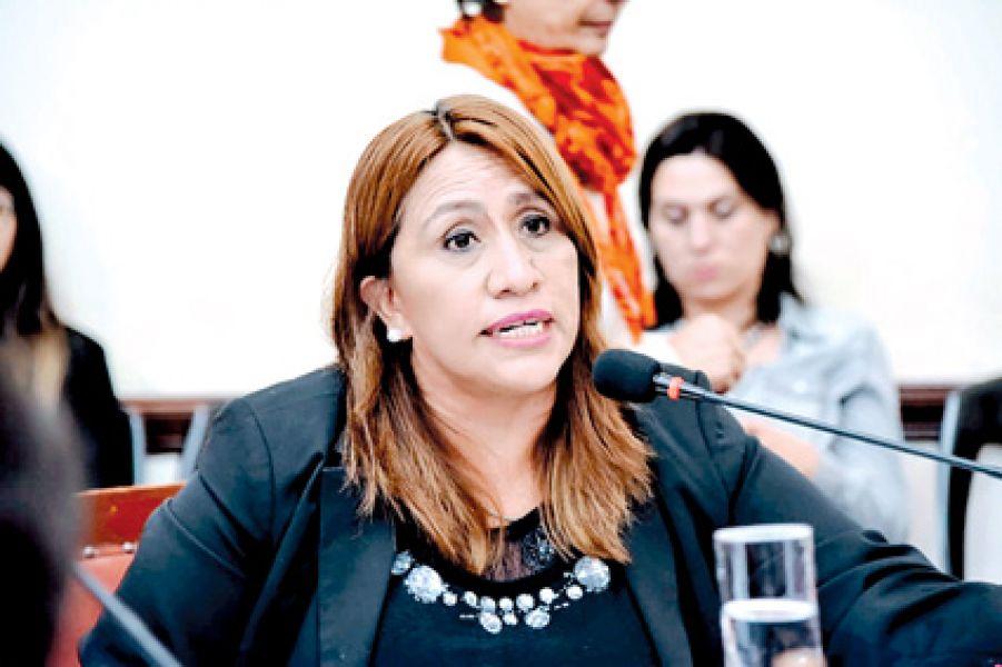 La concejala Sandra Vargas, va por la reelección y también ocupa la presidencia del comité capital de la Unión Cívica Radical de Salta.