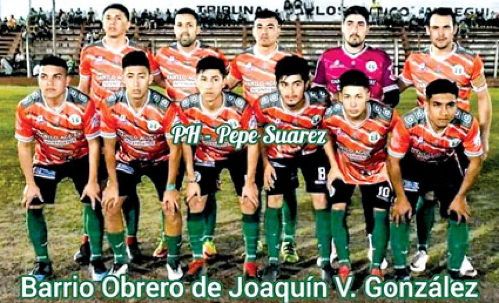Parte del equipo de Barrio Obrero de J.V. González.