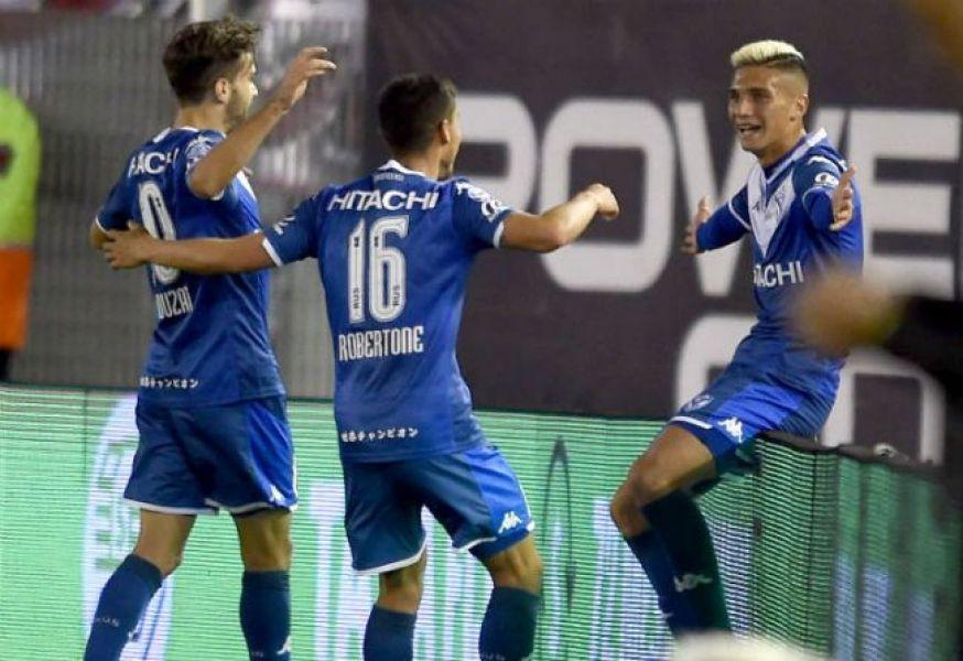 "Giménez, autor del primero. Vélez dejó golpeado al ""Millo""."
