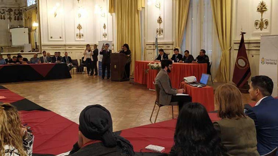 La 19° Asamblea del Consejo Provincial de Seguridad Vial se llevó a cabo el miércoles 25 de setiembre en Mitre 23.