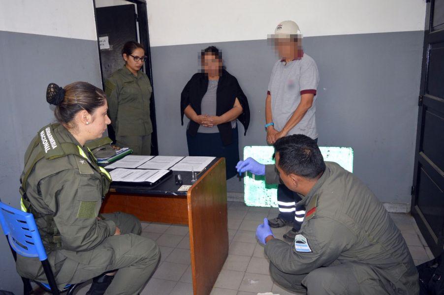 El operativo se realizó en el puesto de control El naranjo.
