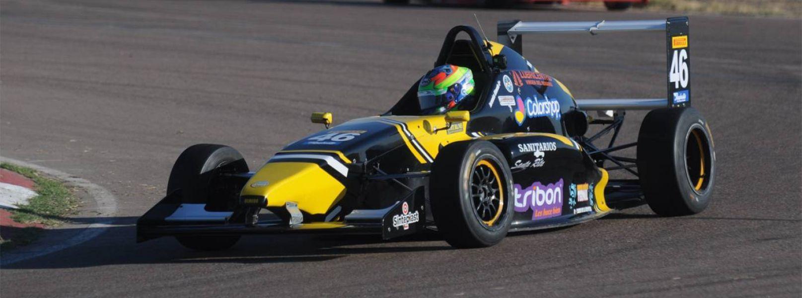 Jeremías Olmedo logró  ayer  en Mendoza su primer triunfo en el automovilismo grande.