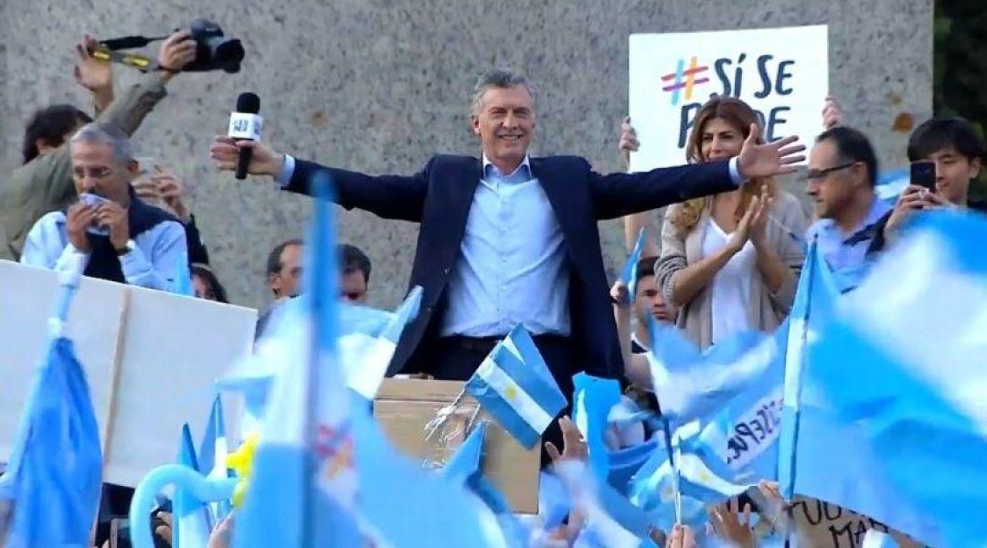 """""""A partir del 10 de diciembre Argentina entra en una etapa de crecimiento"""", prometió Macri ayer en Neuquén."""