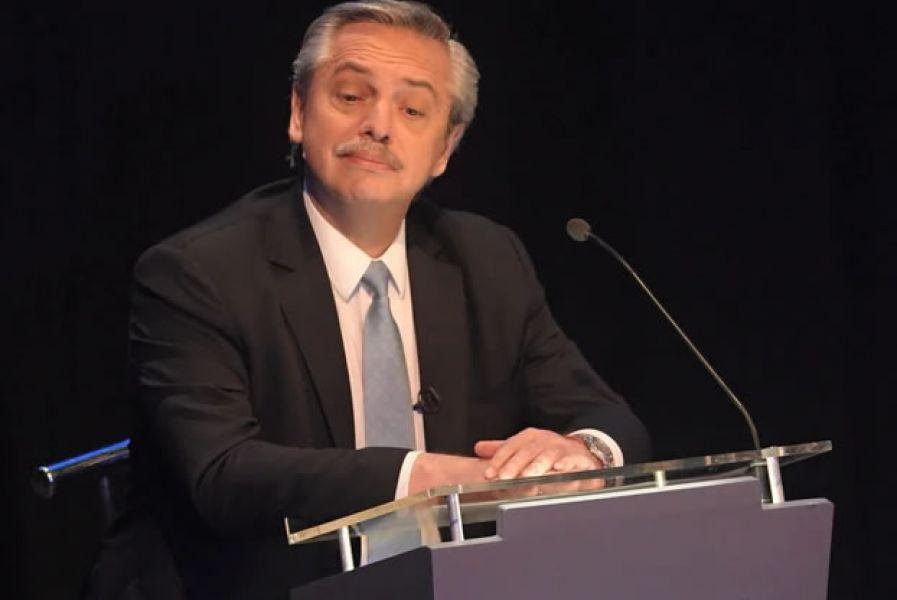 """Alberto Fernández, duro le pidió a Macri como presidente que """"no se vuelva a enojar y haga algún disparate""""."""