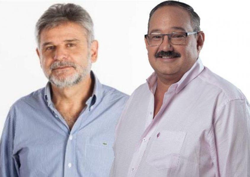 Sergio Leavy junto a Daniel Filmus.