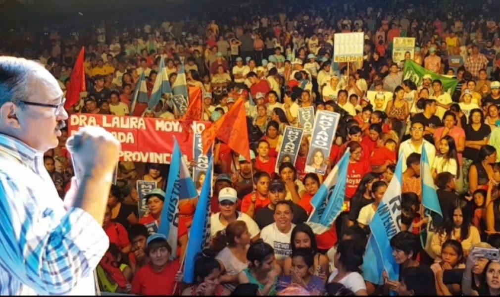Sergio Leavy estuvo en Orán y Metán en el tramo final de su campaña electoral.