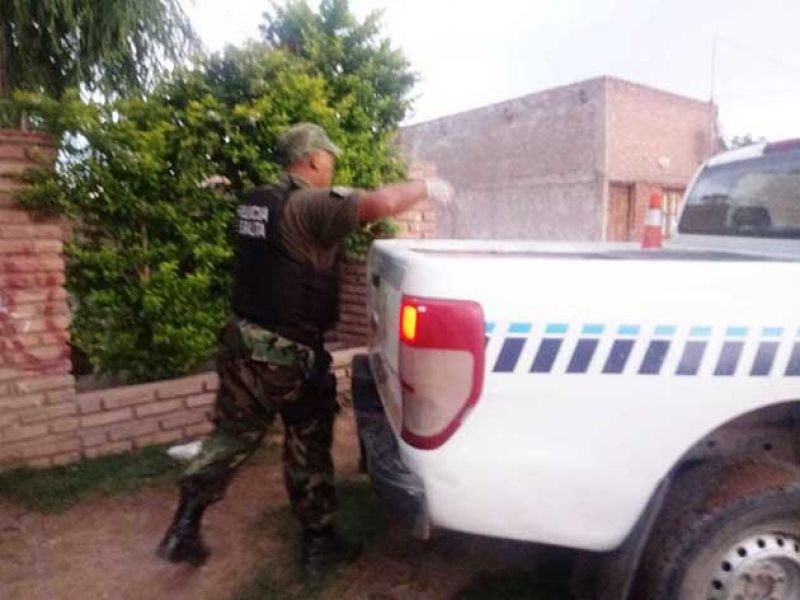 Hubo dos allanamientos por los casos de robo de ganado en la ciudad de Joaquín V. Gonzalez.