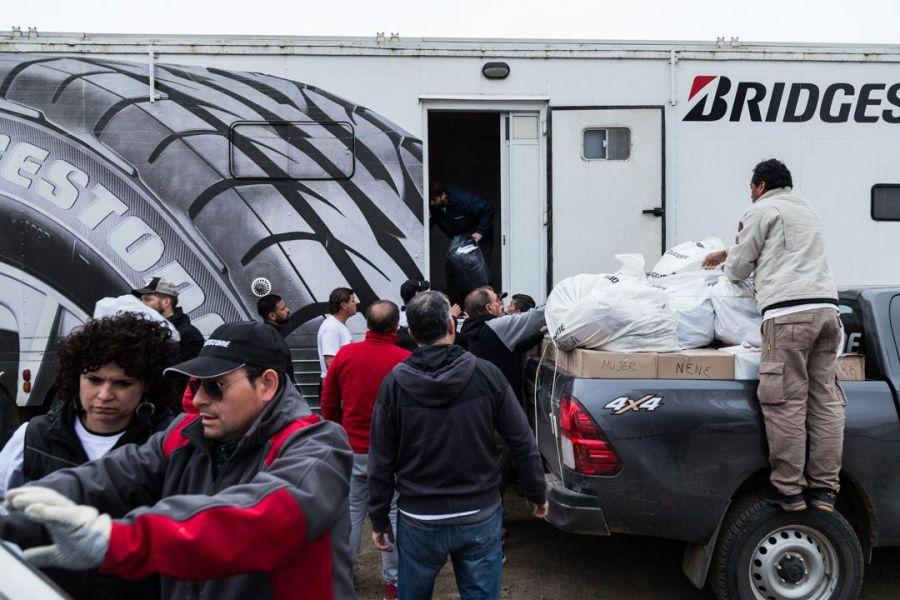 Los donativos llegarán en una caravana de camionetas 4x4 a cuatro escuelas del departamento Rivadavia.