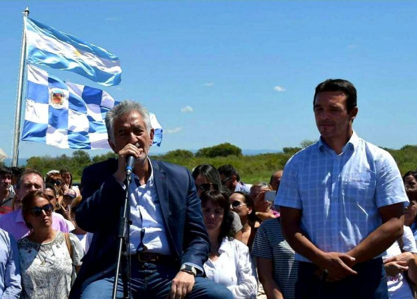 Sergio Tamayo junto a Alberto Rodríguez Saa. La Municipalidad de San Luis vuelve a ser peronista luego de 8 años.