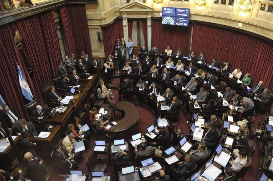 La sesión en la Cámara de Diputados y a la vez en la Cámara de Senadores nacionales, está programada para hoy a las 16.