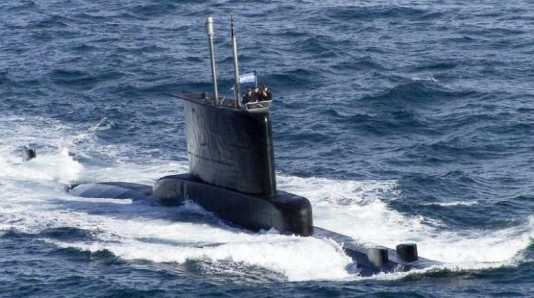Submarino Ara San Juan desaparecido el 15 de noviembre de 2017 en el Atlántico Sur.