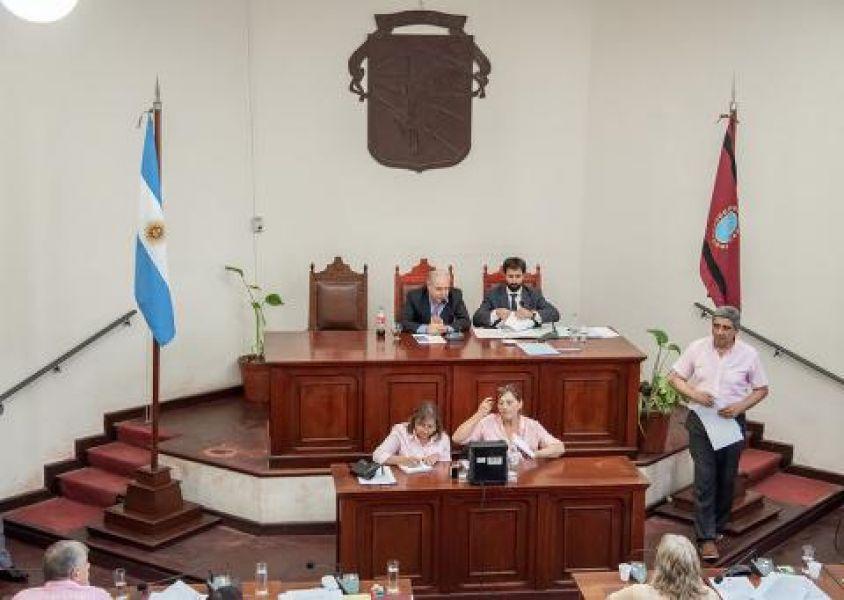 La última sesión del año del Concejo Deliberante capitalino se hará el miércoles que viene.