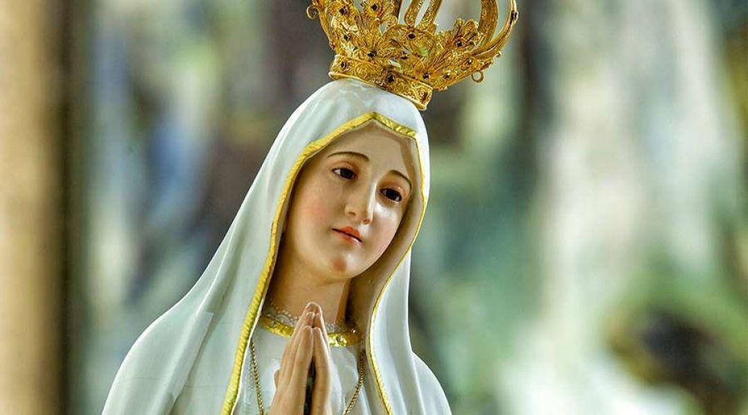 La Vírgen de Fátima, peregrina de la paz, recorrerá durante 15 días varias parroquias de la capital.