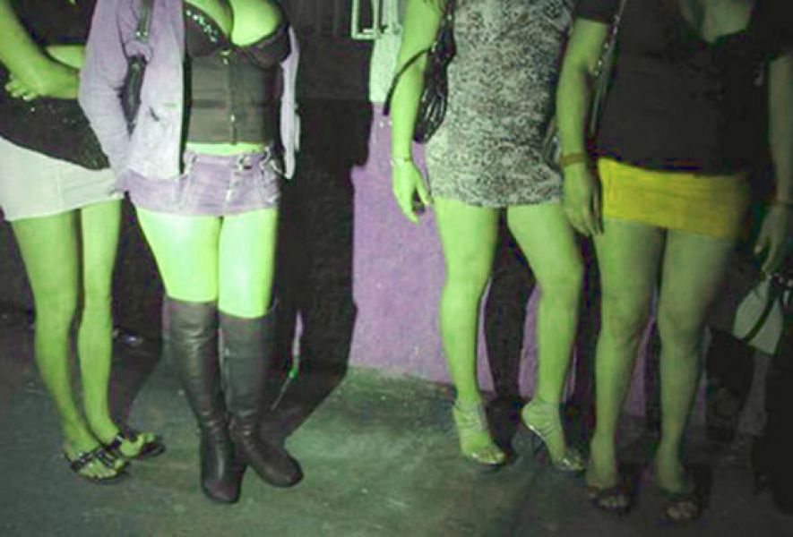 La prostitución se ejercía en calle 16 de Septiembre al 700.