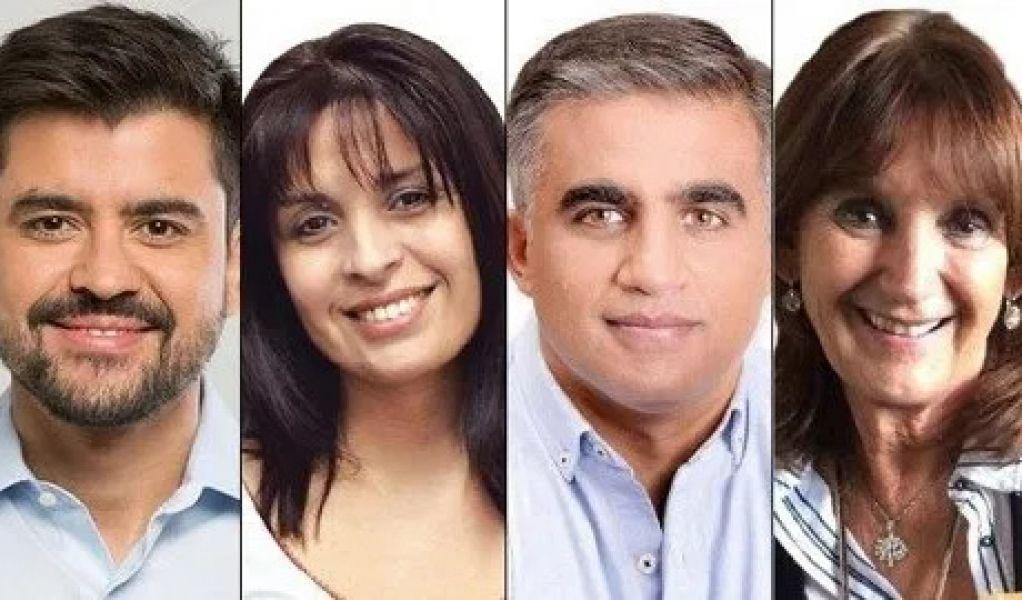 Lucas Godoy, Verónica Caliva, Miguel Nanni y Virginia Cornejo, los nuevos diputados por Salta.