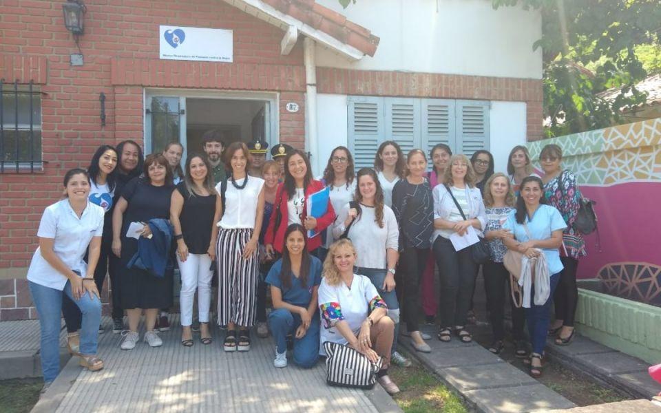 La OHVM  del San  Bernardo recibió a referentes de Salud y Justicia por el tratamiento de la violencia de género.