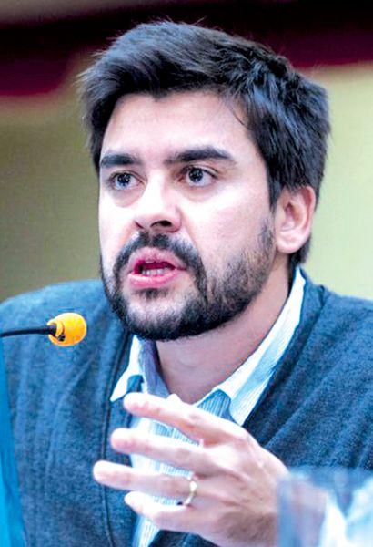 Diputado nacional Lucas Godoy