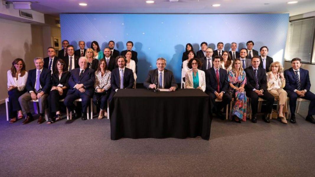 Fernández aseguró que todo el gabinete ya trabajó con él.
