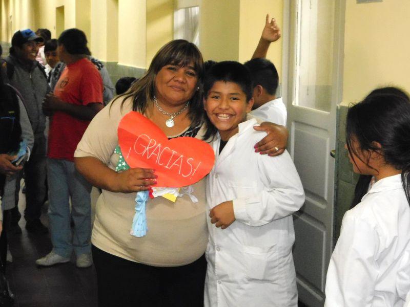 """""""La lucha contra la desnutrición fue una de las más grandes desde 2007, aunque los números duelen todavía"""", sostuvo Edith Cruz."""