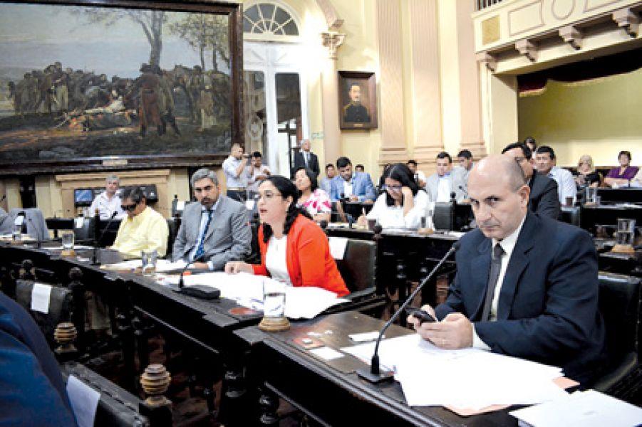 Un extenso debate hubo ayer en la Cámara de Diputados salteña.