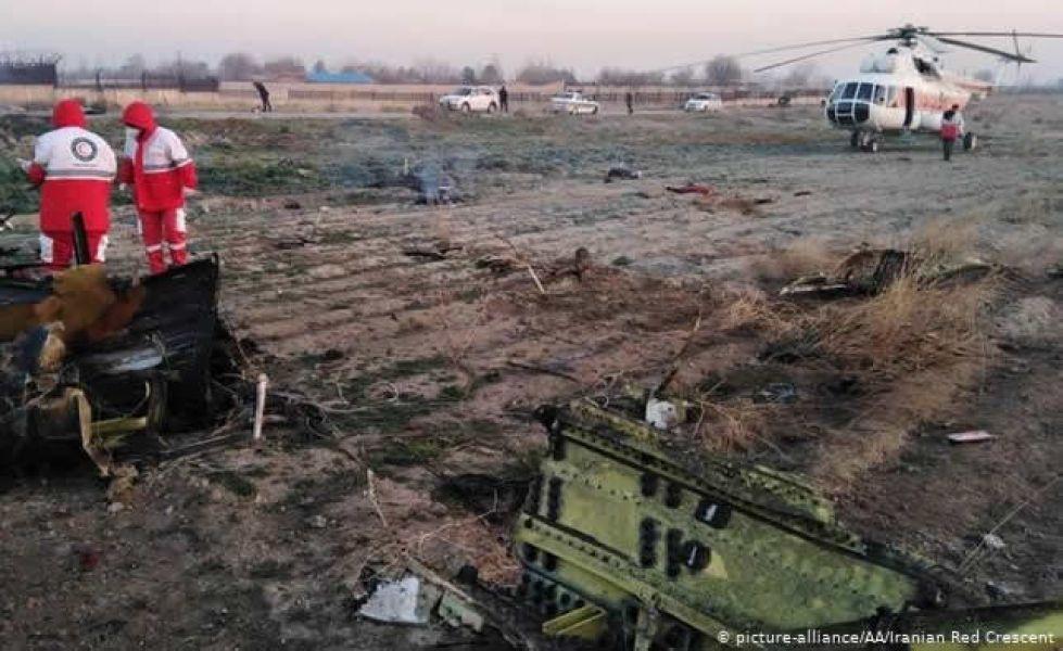 """Obviamente, es imposible que pasajeros"""", del vuelo PS-752 de Teherán a Kiev, """"estén vivos"""", comentaron desde una agencia de prensa."""