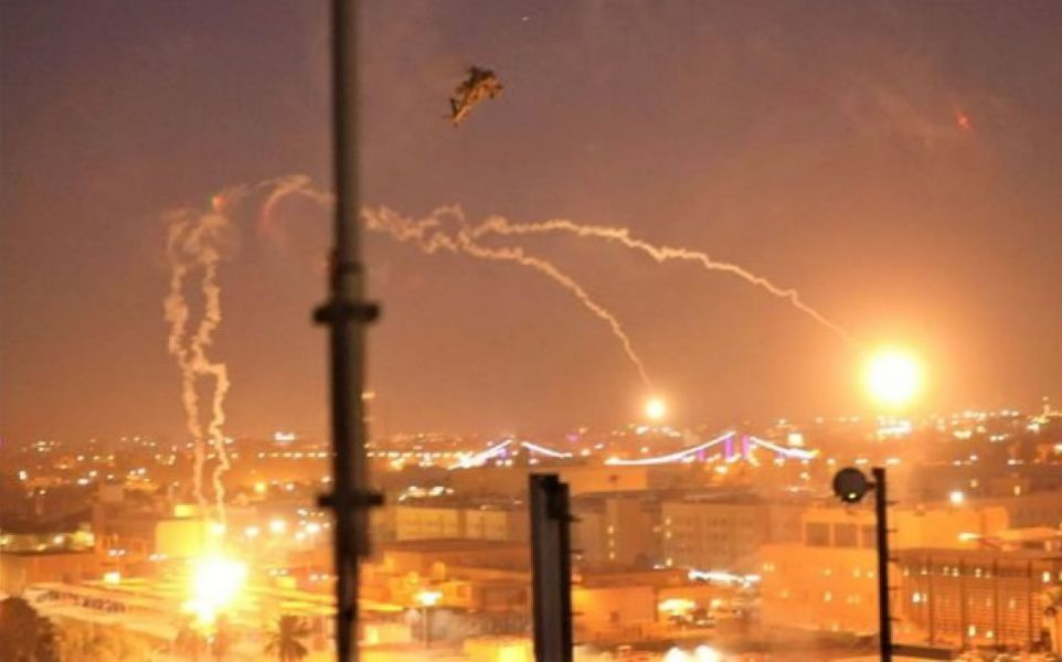 """Se trató del tercer ataque en la denominada """"zona verde"""" cerca de la embajada de EE.UU. en Bagdad."""