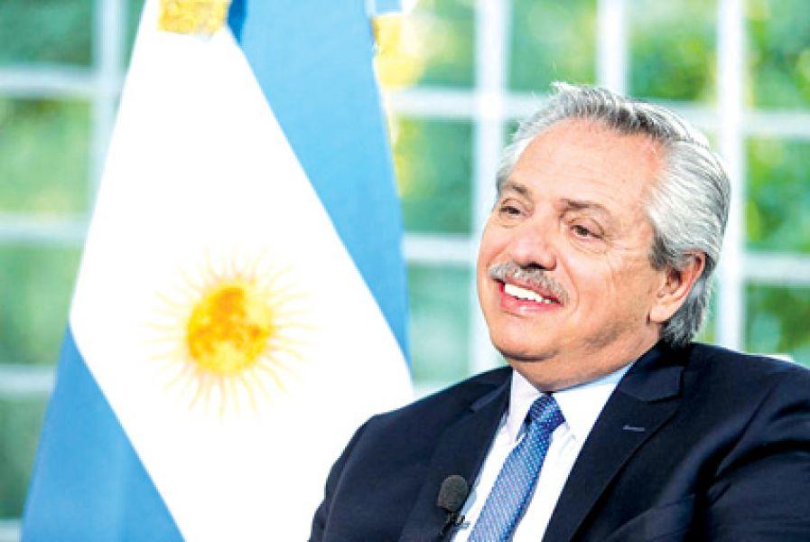 El presidente Alberto Fernández cumplió ayer el primer  mes de gestión.
