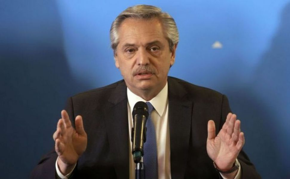 """El presidente Alberto Fernández es optimista. Sostuvo que aspira a """"llegar a un punto de acuerdo"""" con el FMI."""