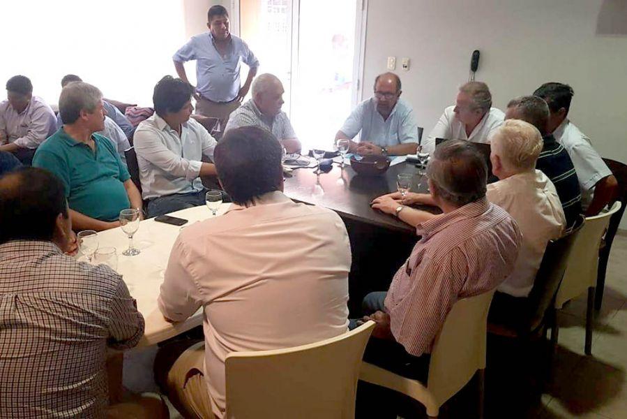 Presentaron un plan de acción para superar la problemática del agua con la participaron autoridades nacionales y provinciales.