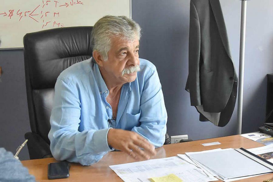 """""""No se dejará de asistir y acompañar el trabajo y necesidades sociales en los municipios"""", dijo Mario Cuenca, Secretario del Interior de la Provincia."""
