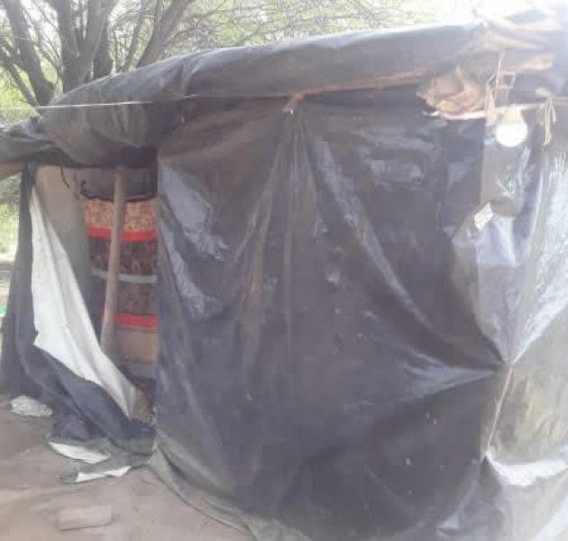 """En """"taperas"""" viven originarios en Santa Victoria Este. Aseguran que la provincia nunca realizó casas en la comunidad de Misión San Luis."""
