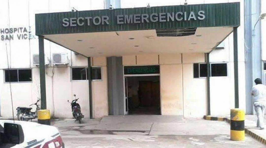 Existen muchos conflictos que esperan ser resueltos con trabajadores de la salud del Hospital San Vicente de Paul de Orán.