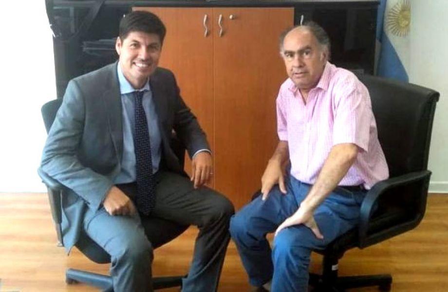 Gonzalo Quilodrán y Mario Cafiero, participarán hoy en Salta de la Mesa del Asociativismo y Economía.