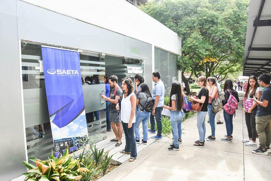 La nueva sede de Saeta ya funciona en la oficina del programa de salud estudiantil en el ingreso a la Universidad Nacional.