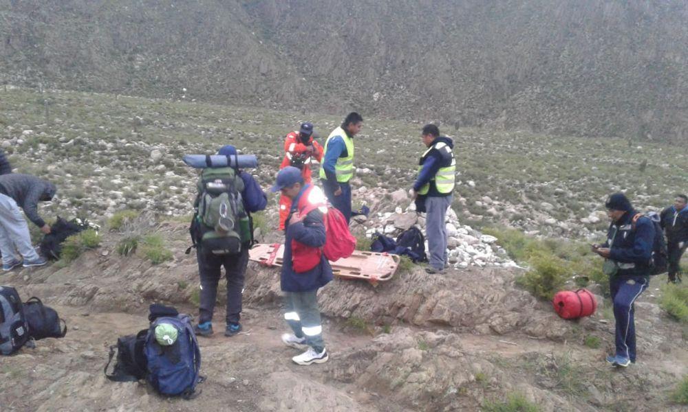 Finalmente el abuelo pastor de ovejas, Marcial Castillo fue hallado muerto en a la orilla del río Las Trancas en Payogasta.