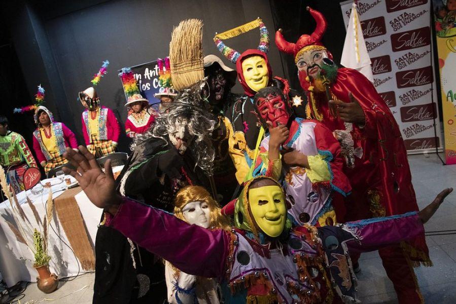 San Antonio de los Cobres, un lugar mágico donde se vive de otra forma el carnaval según la cultura y tradición puneña.