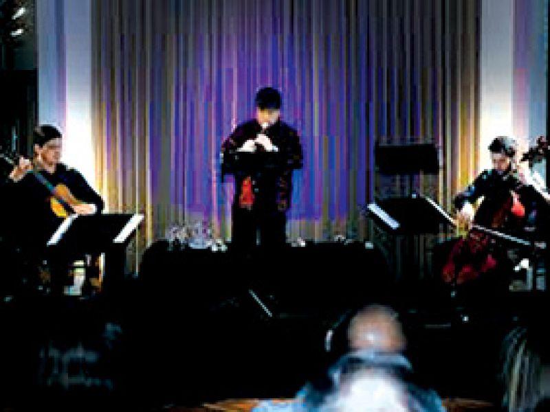 """Música  barroca y folclórica interpretará el Emsable Flauto o Corda de la UCS, en el primer sábado de """"Conciertos en el Foyer""""."""