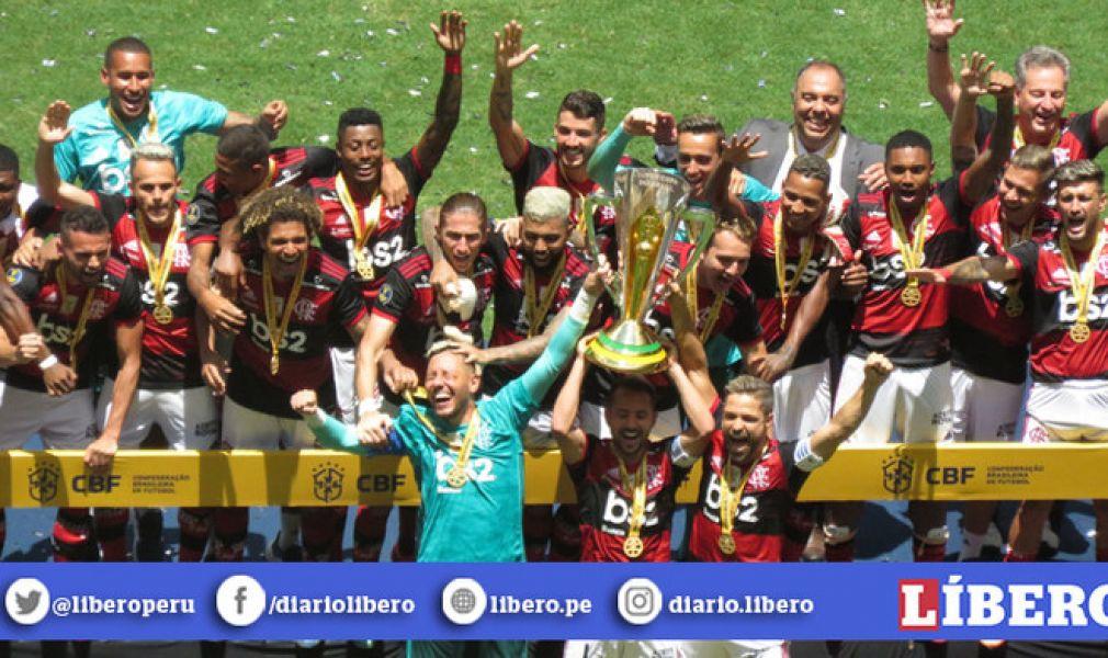 El Flamengo sigue descorchando champagne.