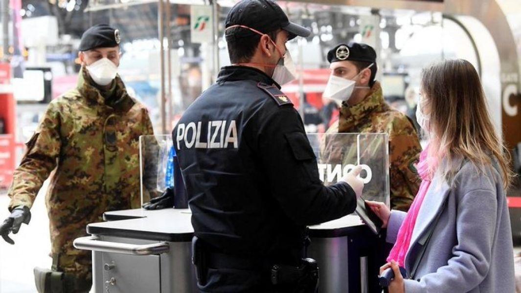 Los 168 fallecimientos en las últimas 24 horas se han registrado en Lombardía, donde ya han muerto 468 personas.