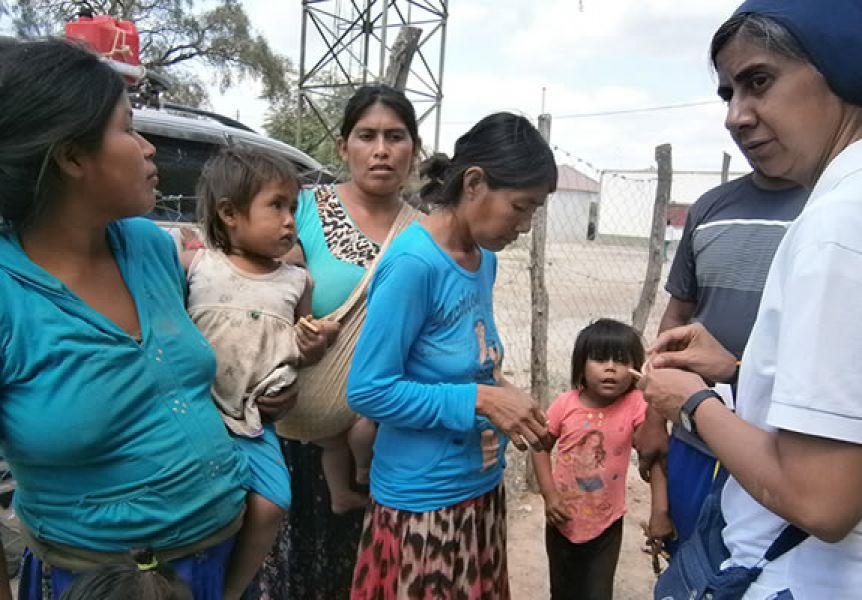 Aseguraron que los parajes de difícil acceso, donde aún está pendiente la asistencia alimentaria, se evalúa como llegar.